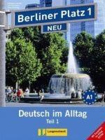 Langenscheidt BERLINER PLATZ NEU 1 TEIL 1 LEHRBUCH und ARBEITSBUCH mit CD ... cena od 305 Kč
