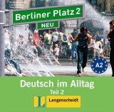 Langenscheidt BERLINER PLATZ NEU 2 TEIL 2 AUDIO CD zum LEHRBUCH - KAUFMANN... cena od 246 Kč
