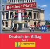 Langenscheidt BERLINER PLATZ NEU 3 TEIL 1 AUDIO CD zum LEHRBUCH - KAUFMANN... cena od 246 Kč