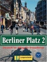 Langenscheidt BERLINER PLATZ 2 LEHRBUCH und ARBEITSBUCH - LEMCKE, Ch., ROH... cena od 467 Kč