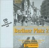 Langenscheidt BERLINER PLATZ 2 AUDIO CD zum ARBEITSBUCH - LEMCKE, Ch., ROH... cena od 230 Kč