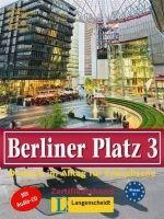 Langenscheidt BERLINER PLATZ 3 LEHRBUCH und ARBEITSBUCH mit AUDIO CD zum A... cena od 484 Kč