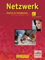 Langenscheidt NETZWERK A1 TEIL 1 KURSBUCH und ARBEITSBUCH mit AUDIO CDs /2... cena od 373 Kč