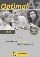 Langenscheidt OPTIMAL A2 TESTHEFT mit CD - MUELLER, M., RUSCH, P., SCHERLI... cena od 373 Kč
