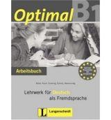 Langenscheidt OPTIMAL B1 ARBEITSBUCH mit AUDIO CD - MUELLER, M., RUSCH, P.... cena od 305 Kč