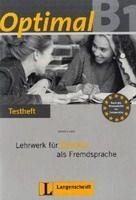 Langenscheidt OPTIMAL B1 TESTHEFT mit AUDIO CD - MUELLER, M., RUSCH, P., S... cena od 382 Kč