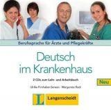 Langenscheidt DEUTSCH IM KRANKENHAUS NEU AUDIO CDs /2/ - FIRNHABER, SENSEN... cena od 543 Kč