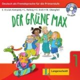 Langenscheidt DER GRÜNE MAX NEU 1 ARBEITSBUCH mit AUDIO CD - KRULAK, KEMPI... cena od 246 Kč