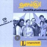 Langenscheidt GENIAL B1 AUDIO CD zum ARBEITSBUCH - FUNK, H., KELLER, S., K... cena od 254 Kč