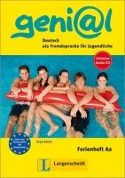 Langenscheidt GENIAL A2 FERIENHEFT mit AUDIO CD - KELLER, S. cena od 195 Kč