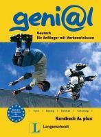 Langenscheidt GENIAL A1 PLUS KURSBUCH - FUNK, H., KOENIG, M., KOITHAN, U. cena od 297 Kč