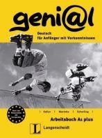 Langenscheidt GENIAL A1 PLUS ARBEITSBUCH + CD - FUNK, H., KOENIG, M., KOIT... cena od 246 Kč