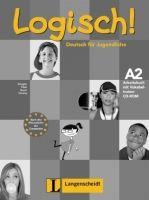 Langenscheidt LOGISCH! A2 ARBEITSBUCH mit AUDIO CD und VOKABELTRAINER CD-R... cena od 467 Kč