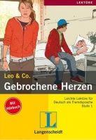 Langenscheidt LEO & CO., STUFE 1 - GEBROCHENE HERZEN + CD cena od 186 Kč