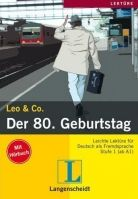 Langenscheidt LEO & CO., STUFE 1 - DER 80. GEBURTSTAG + CD - BURGER, E. + ... cena od 186 Kč