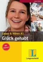 Langenscheidt LESEN UND HÖREN, GLÜCK GEHABT A1 + CD cena od 144 Kč