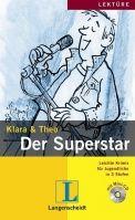 Langenscheidt KLARA & THEO, STUFE 1 - DER SUPERSTAR + CD cena od 111 Kč