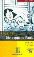 Langenscheidt KLARA & THEO, STUFE 3 - DIE DOPPELTE PAULA + CD cena od 141 Kč