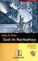 Langenscheidt KLARA & THEO, STUFE 3 - SPUK IM NACHBARHAUS + CD cena od 135 Kč