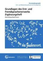 Langenscheidt FERNSTUDIENHEIT 15 - GRUNDLAGEN DES ERST- UND FREMDSPRACHENE... cena od 0 Kč