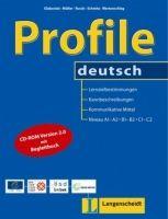 Langenscheidt PROFILE DEUTSCH A1-C2 BUCH mit CD-ROM - GLABONIAT, M., MÜLLE... cena od 885 Kč