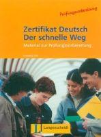 Langenscheidt ZERTIFIKAT DEUTSCH - DER SCHNELLE WEG TESTHEFT - GICK, C., S... cena od 266 Kč