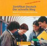 Langenscheidt ZERTIFIKAT DEUTSCH - DER SCHNELLE WEG AUDIO CD - GICK, C., S... cena od 254 Kč