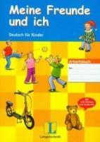 Langenscheidt MEINE FREUNDE UND ICH ARBEITSBUCH für KINDER mit AUDIO CD un... cena od 365 Kč