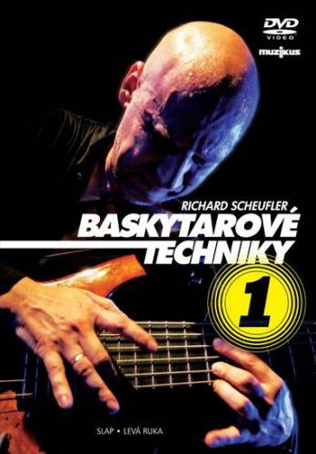 Scheufler Richard: Baskytarové techniky 1 - DVD cena od 141 Kč