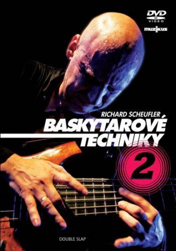 Scheufler Richard: Baskytarové techniky 2 - DVD cena od 141 Kč