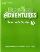 XXL obrazek Heinle ELT part of Cengage Lea READING ADVENTURES 3 TEACHER´S GUIDE - LIESKE, C., MENKING, ...