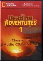 Heinle ELT part of Cengage Lea READING ADVENTURES 1 AUDIO CD/DVD - LIESKE, C., MENKING, S. cena od 1066 Kč