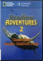 Heinle ELT part of Cengage Lea READING ADVENTURES 2 AUDIO CD/DVD - LIESKE, C., MENKING, S. cena od 1066 Kč