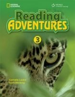 Heinle ELT part of Cengage Lea READING ADVENTURES 3 STUDENT´S BOOK - LIESKE, C., MENKING, S... cena od 376 Kč
