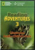 Heinle ELT part of Cengage Lea READING ADVENTURES 3 AUDIO CD/DVD - LIESKE, C., MENKING, S. cena od 935 Kč