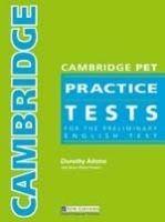 Heinle ELT part of Cengage Lea CAMBRIDGE PET PRACTICE TESTS STUDENT´S BOOK WITH KEY + AUDIO... cena od 512 Kč
