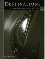 Heinle ELT part of Cengage Lea DESTINATIONS Writing for Academic Success 2 GRAMMAR WORKBOOK... cena od 280 Kč