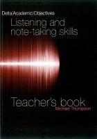 Heinle ELT part of Cengage Lea DELTA ACADEMIC OBJECTIVES: LISTENING SKILLS TEACHER´S BOOK -... cena od 288 Kč
