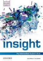 OUP ELT INSIGHT PRE-INTERMEDIATE STUDENT´S BOOK - WILDMAN, J., BEDDA... cena od 366 Kč