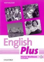 OUP ELT ENGLISH PLUS STARTER WORKBOOK + MultiROM PACK (International... cena od 201 Kč