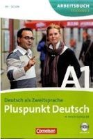 Cornelsen Verlagskontor GmbH PLUSPUNKT DEUTSCH NEU A1/2 ARBEITSBUCH + CD cena od 134 Kč