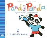 ELI s.r.l. PANDY THE PANDA 2 STUDENT´S BOOK with SONGS AUDIO CD - VILLA... cena od 181 Kč