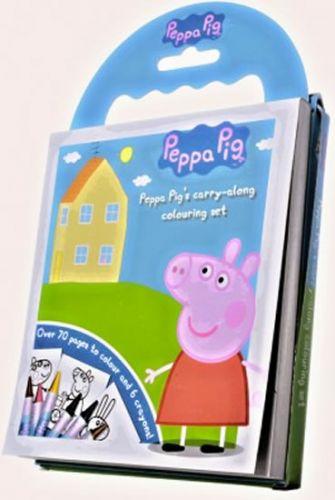 Urania 60 omalovánek Prasátko Peppa + voskovky + DVD cena od 110 Kč