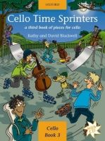 OUP ED CELLO TIME SPRINTERS with AUDIO CD - BLACKWELL, K., BLACKWEL... cena od 244 Kč