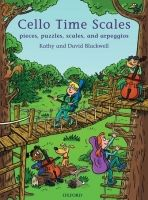 OUP ED CELLO TIME SCALES: Pieces, puzzles, scales, and arpeggios - ... cena od 260 Kč