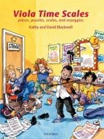 OUP ED VIOLA TIME SCALES: Pieces, puzzles, scales, and arpeggios (R... cena od 216 Kč