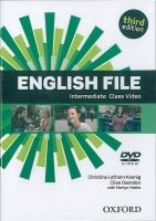 OUP ELT ENGLISH FILE Third Edition INTERMEDIATE CLASS DVD - LATHAM, ... cena od 519 Kč