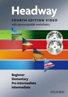 OUP ELT NEW HEADWAY FOURTH EDITION BEGINNER - INTERMEDIATE VIDEO wit... cena od 880 Kč