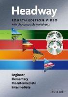 OUP ELT NEW HEADWAY FOURTH EDITION BEGINNER - INTERMEDIATE VIDEO wit... cena od 871 Kč