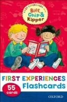 OUP ED READ WITH BIFF, CHIP & KIPPER FIRST EXPERIENCES FLASHCARDS (... cena od 0 Kč